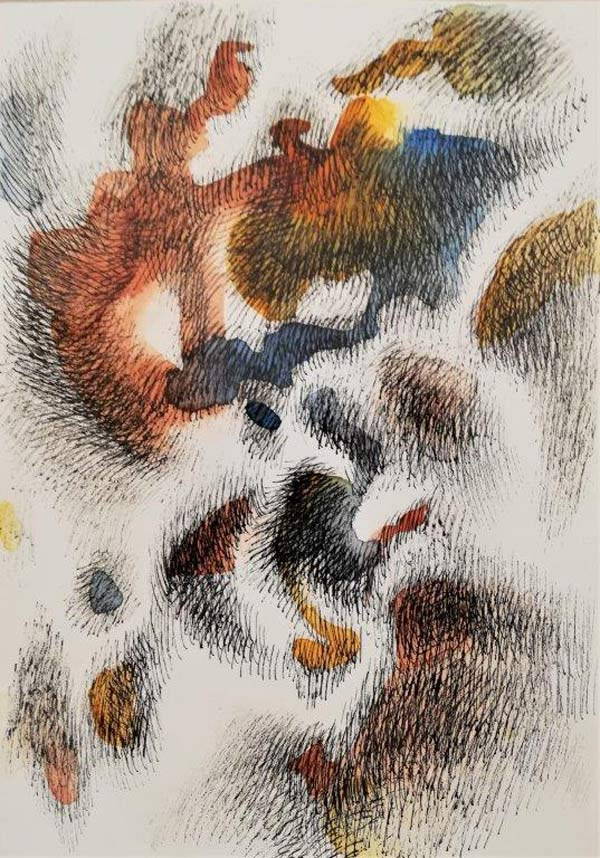 Zeichnung Mansurshon