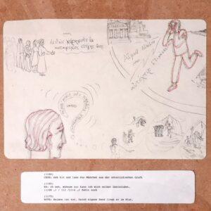 Sophokles – Antigone #17, Maria Bussmann, 2021.