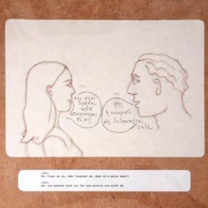 Sophokles – Antigone #6, Maria Bussmann, 2021.