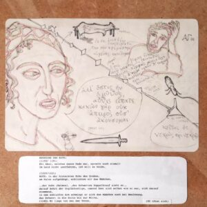 Sophokles – Antigone #18, Maria Bussmann, 2021.