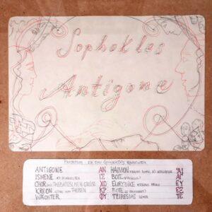 Sophokles – Antigone #1, Maria Bussmann, 2021.